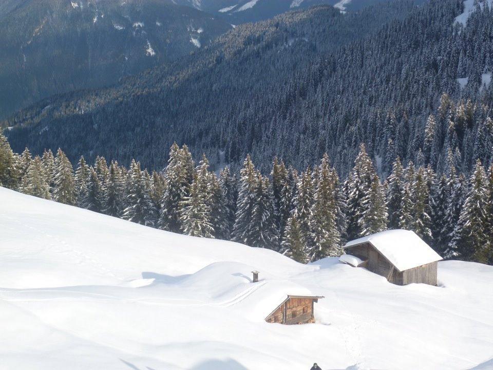 Österreich-Skifahren