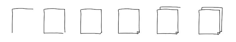sketchnote eines Dokuments