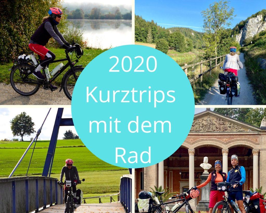 Jahresrückblick 2020: Radtouren Deutschland